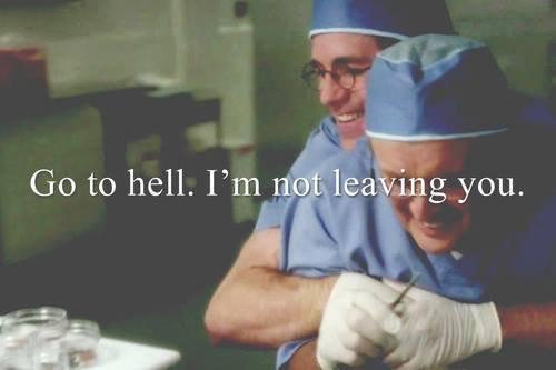"""""""Allez en enfer. Je ne vous laisserez pas."""" ♥."""