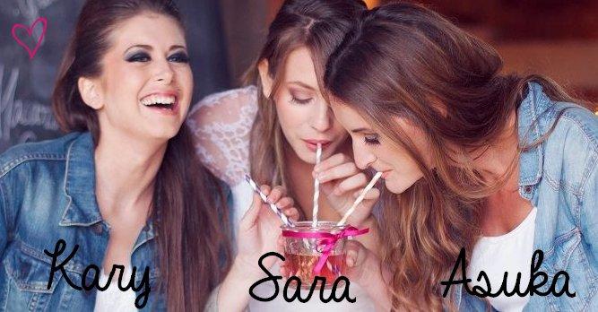 Morganne et Julie ; Mes Chéries ♥