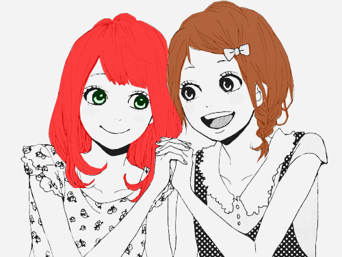 Avec Laure ♥