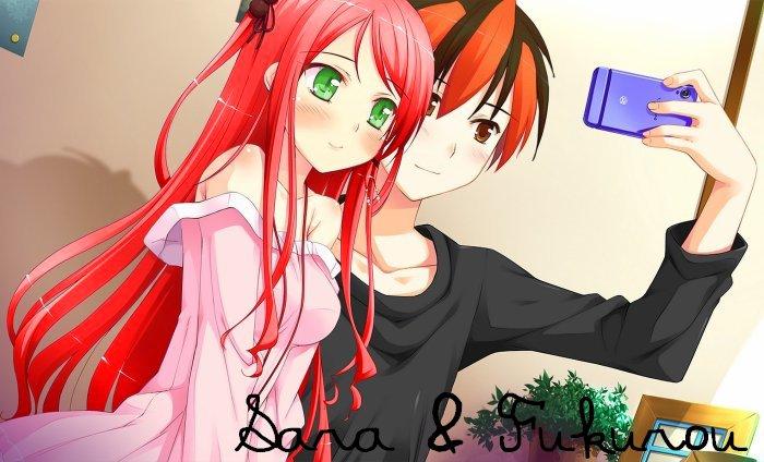 Avec Fuku ♥