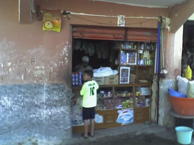 supermarché du Maroc.