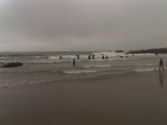 des vagues de 2 mètres minimum.