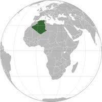 l'algérie le coeur du monde.