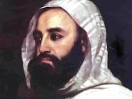 l'amir abdelkader le premier président d'algérie en 1832.