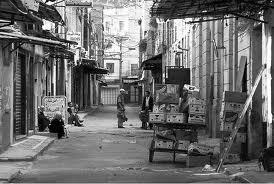 centre ville de tlemcen en 1945.
