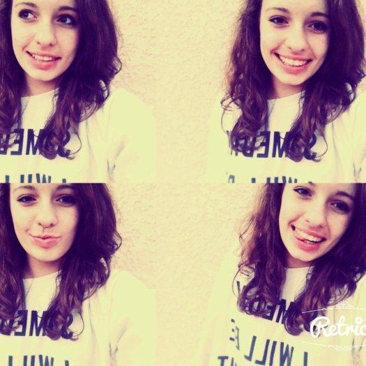 je m'aime puisque personne ne peut le faire.