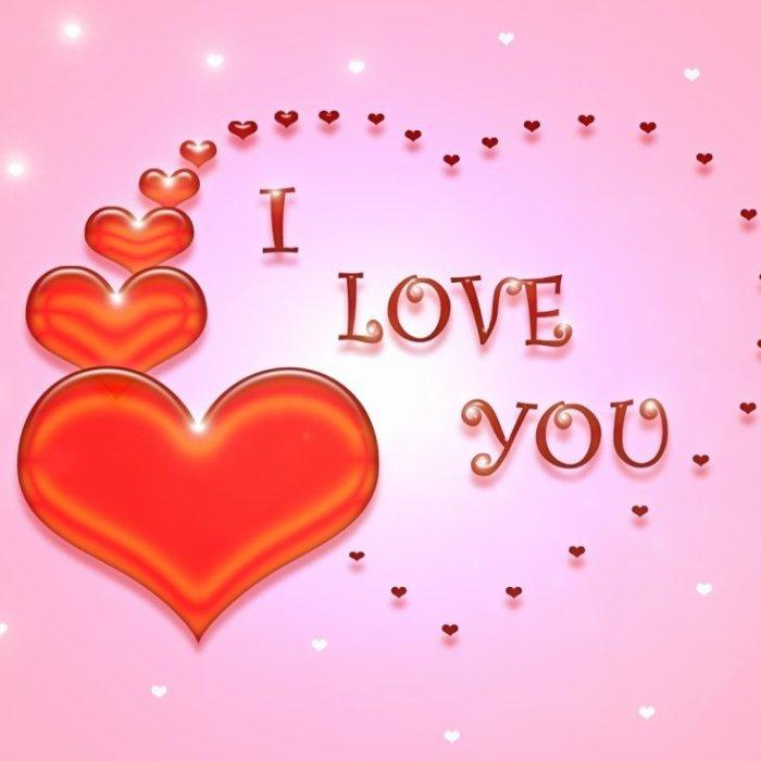 Je t'aime de tous mon <3