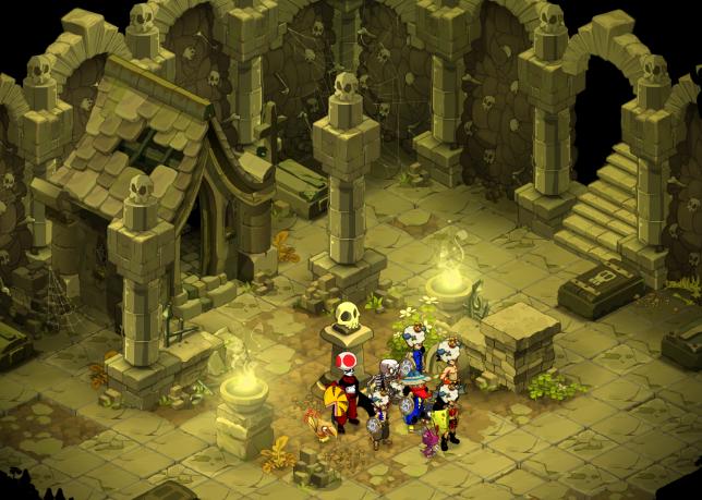 Le Dojon des Squelettes