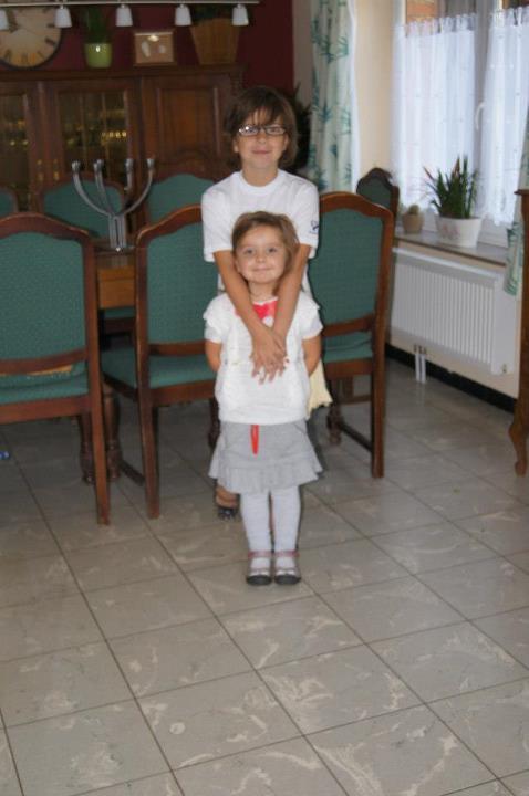 Mes deux plus jeunes le jour de la rentrée scolaire