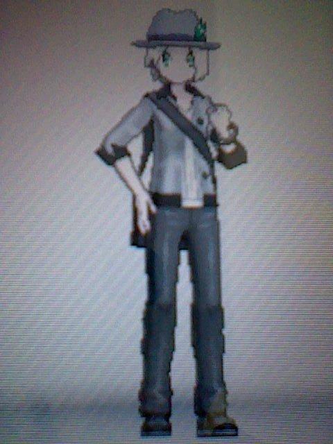 Mon perso de pokémon X j'ai nommé Jacky-chan !