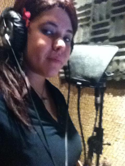 Au studio :)