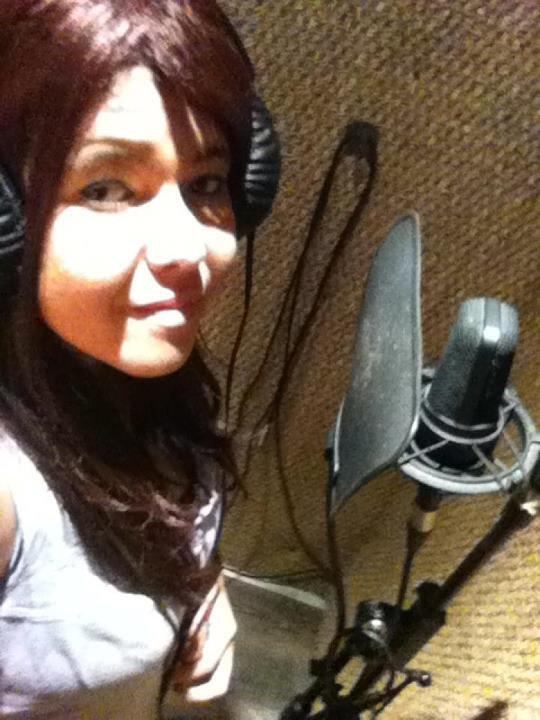 """Cest fini la sesion de studio :) endirecte de l zone  Dans une semaine mon nouveaux son sortira """" On"""