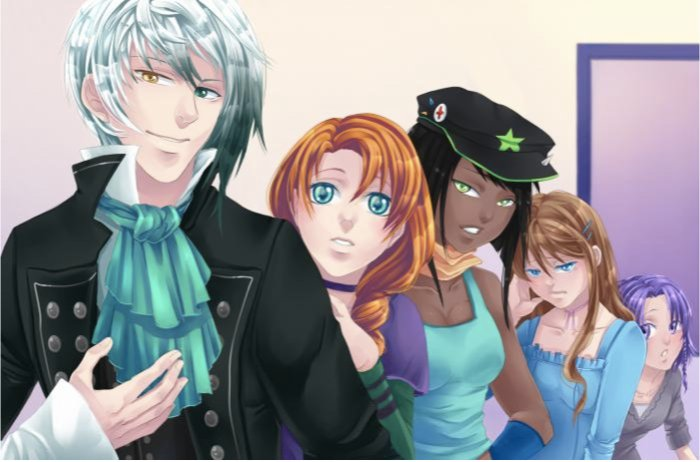 Lysandre, Iris, Kim, Mélodie et Violette