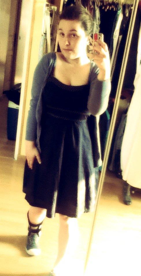 la robe avec l'attelle : classe