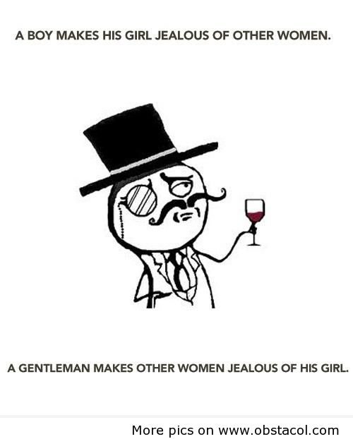 i love gentleman..