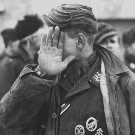 Jeune soldat allemand.