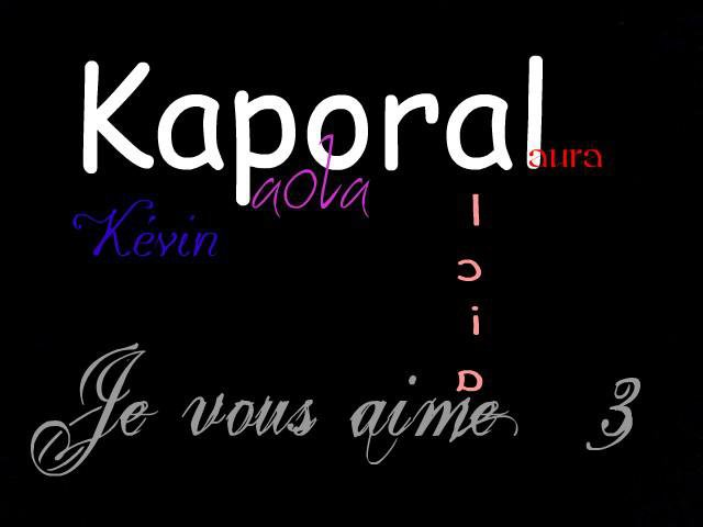 Kevin !! Anais !! Paola!! Olala !! Rolala !! Alicia !! Laura!!