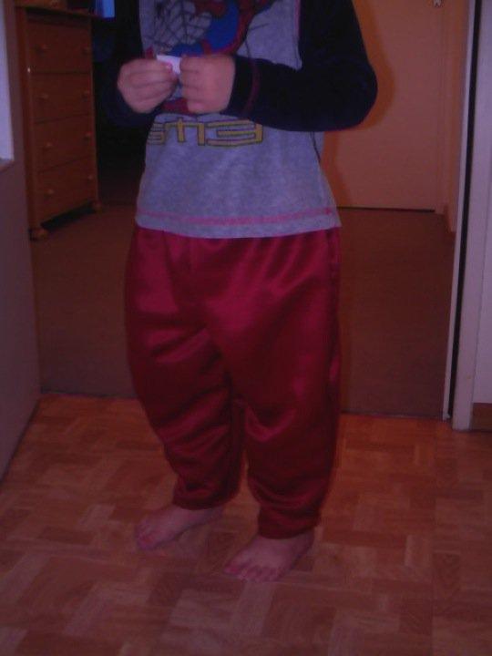 Petit pantalon de carnaval