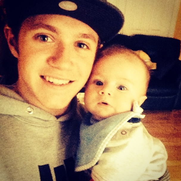 Niall et son neveu, Theo !