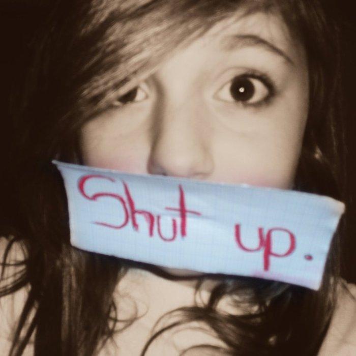 Shut up. Bitch.