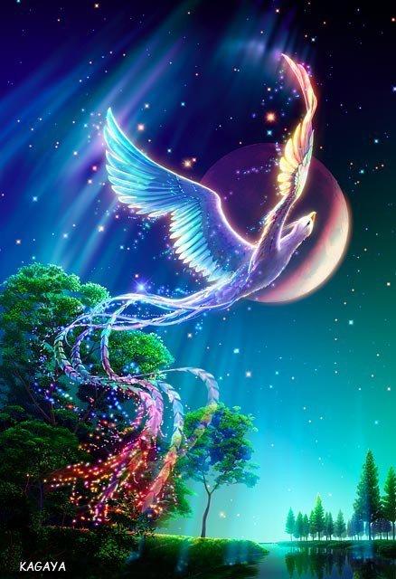 Oiseau mystique