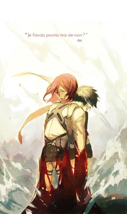 Gagoune x Rei (<--le diable)