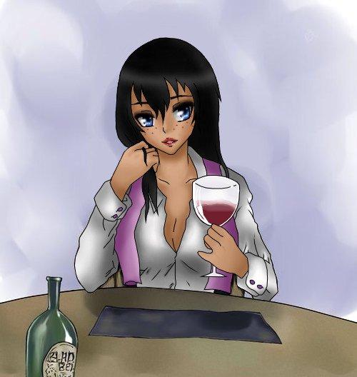 Un verre peut-être ? | Base : Juvia