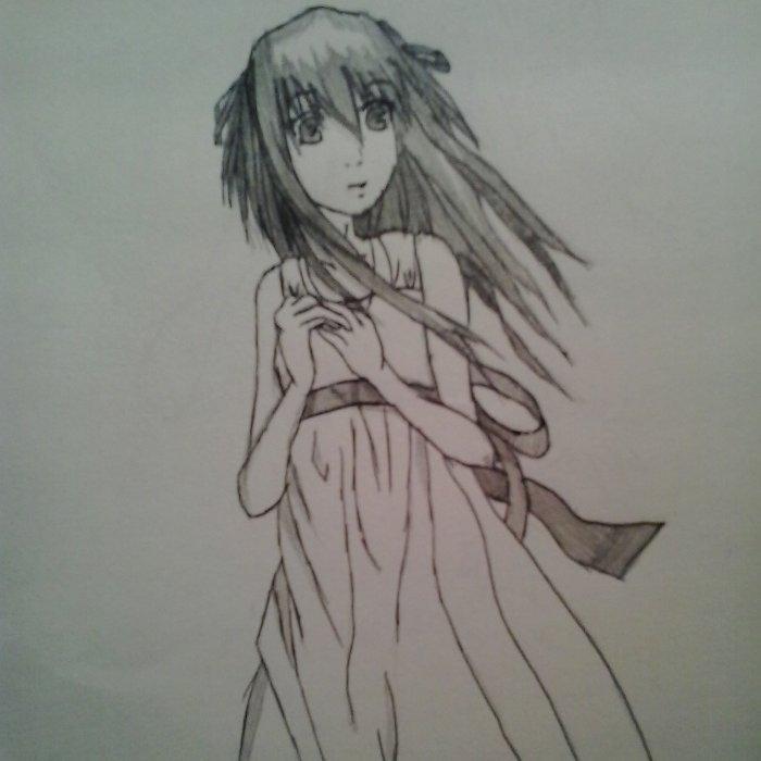 Alice (dessin fait par moi-même (aidé d'un modèle))