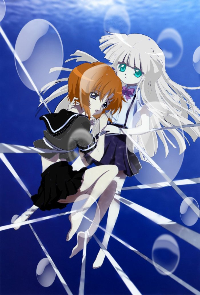 Shiro et Salomé (jumelles n°2)