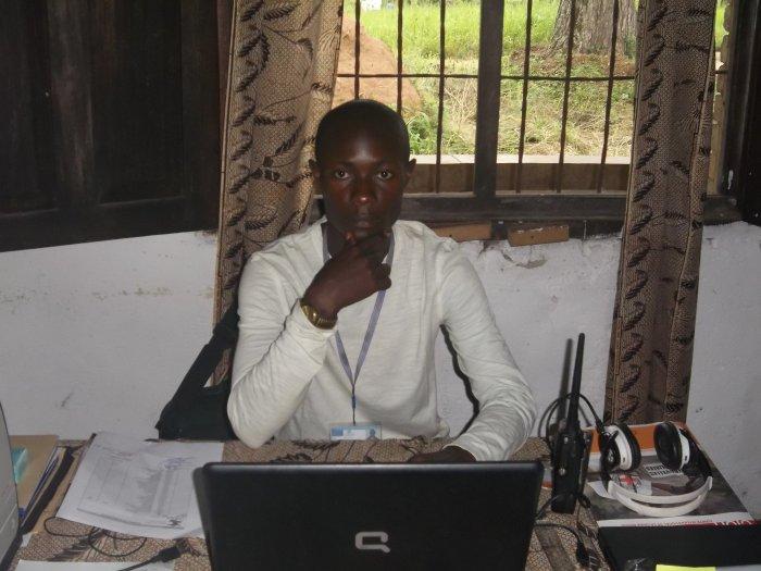 Jules Mbongo, à Ango