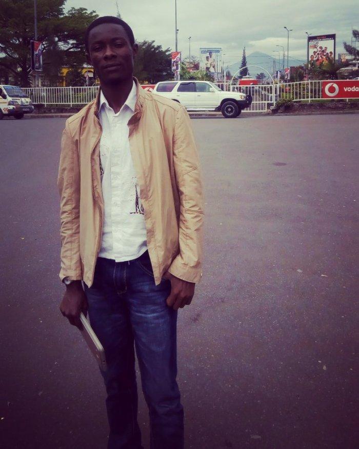 Jules Mbogo, à Goma en RDC