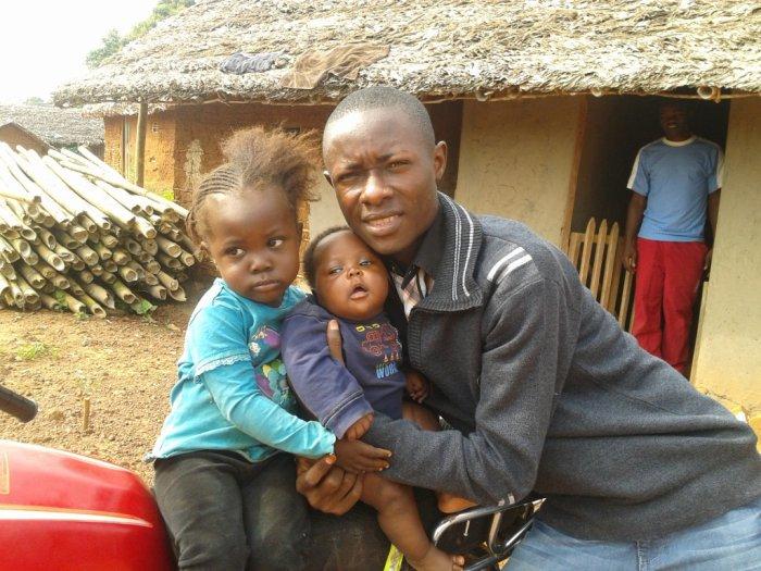 Avec mes filles Vanessa et Jésicca