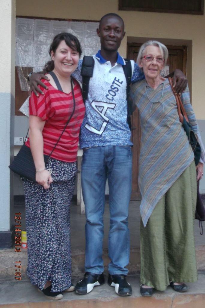 Avec les collègues de Médecins Sans Frontières