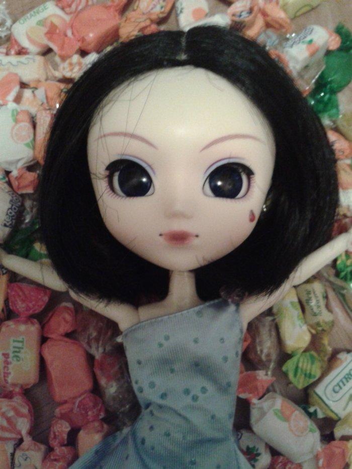 Mion (modèle: pullip Uncanricky, wig custo)
