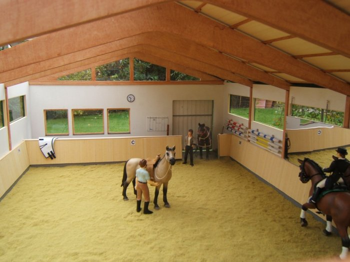 schleich pferde hof
