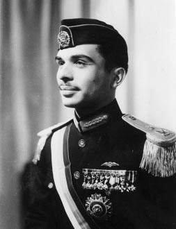 King Hussein in 1953
