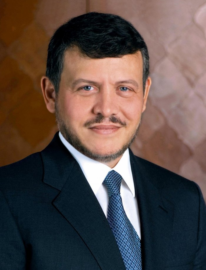 Portrait of King Abdullah II