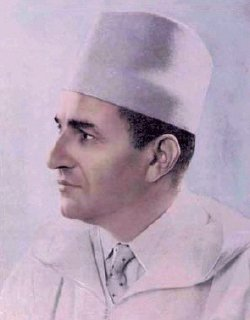 Portrait of king Mohammed V