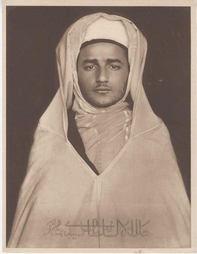 Sultan Sidi-Mohammed in 1930