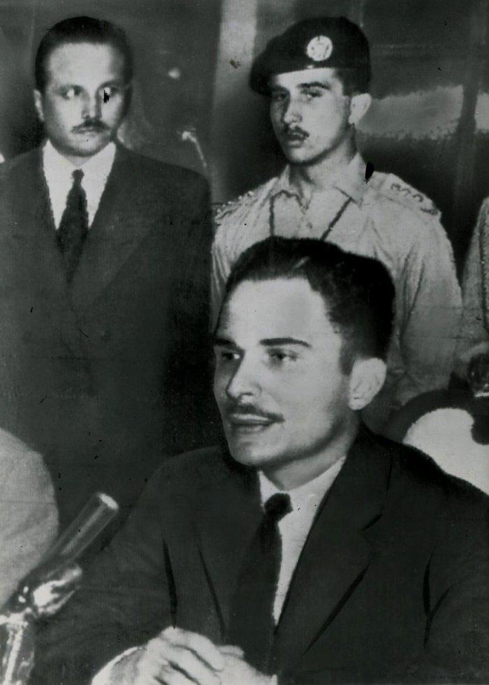 King Hussein in 1965