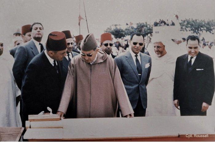 King Mohammed V in Tangier
