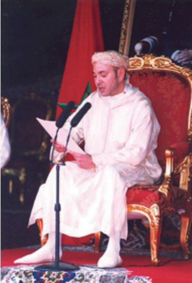 King Mohammed VI speach on his corronation day