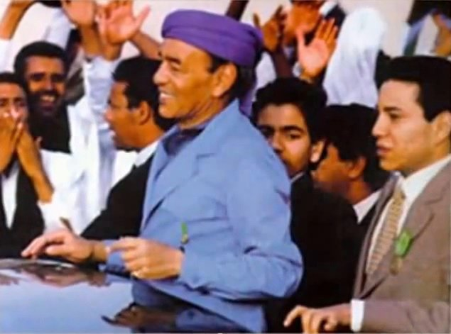 King Hassan II in 1982
