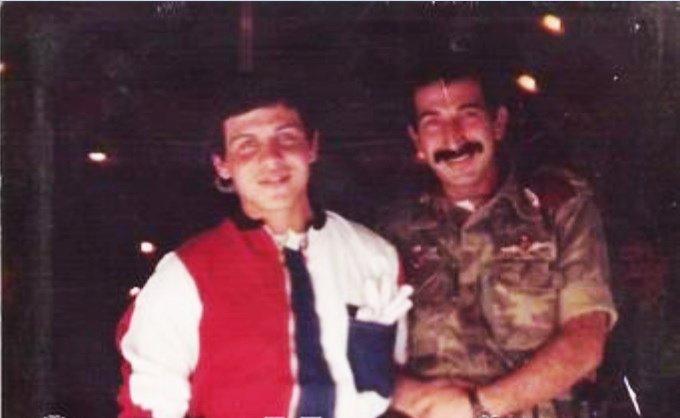 Prince Abdullah, futur king Abdullah II