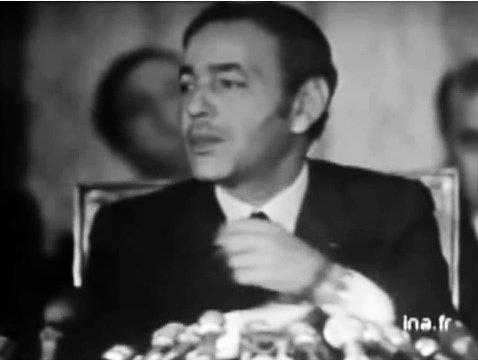 King Hassan II, 1971