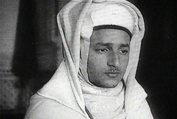 Sultan Sidi-Mohammed on the sacrement of his corronation day
