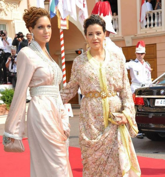 Princess Lalla Soukaina and her mother princess Lalla Meryem