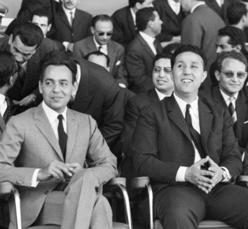 King Hassan II and ben Bella, in 1963