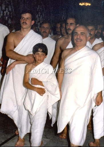 King Hussein in Mecca (descrip bellow)