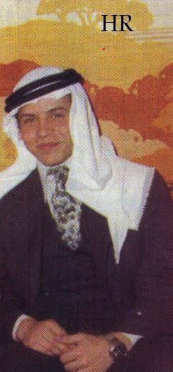 Young king Abdullah II